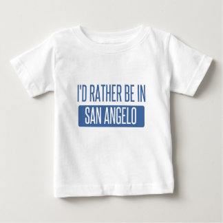 Ich würde eher in San Angelo sein Baby T-shirt