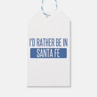 Ich würde eher in Santa Fe sein Geschenkanhänger