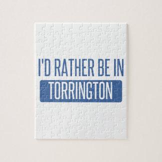Ich würde eher in Torrington sein Puzzle