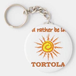 Ich würde eher in Tortola sein Schlüsselanhänger
