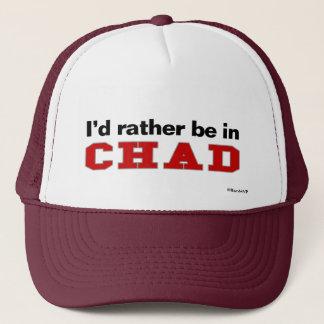 Ich würde eher in Tschad sein Truckerkappe