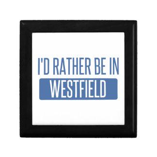Ich würde eher in Westfield sein Geschenkbox