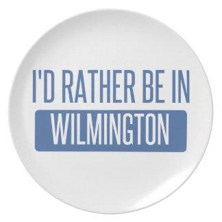 Ich würde eher in Wilmington De sein Melaminteller