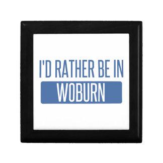Ich würde eher in Woburn sein Erinnerungskiste