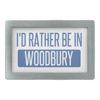 Ich würde eher in Woodbury sein Rechteckige Gürtelschnalle
