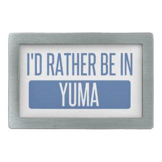 Ich würde eher in Yuma sein Rechteckige Gürtelschnalle