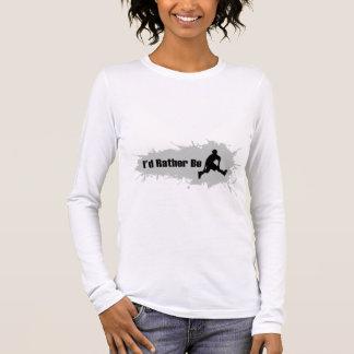 Ich würde eher Rollerblading sein Langarm T-Shirt