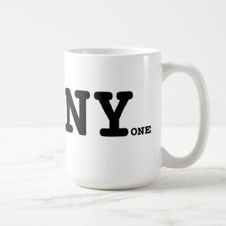 Ich wurde Liebe jedermann NY Art Kaffeetasse