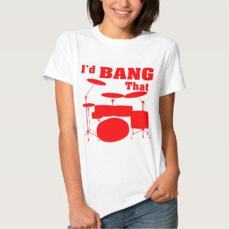 Ich würde schlagen, dass (Trommeln) Hemden