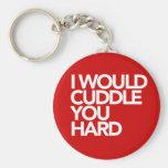 Ich würde Sie stark streicheln Schlüsselanhänger