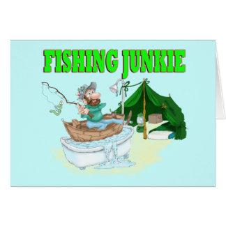 Ich würde vielmehr fischen! grußkarte
