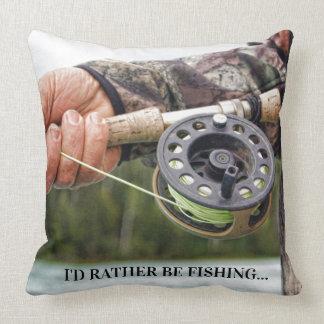 Ich würde vielmehr fischen kissen