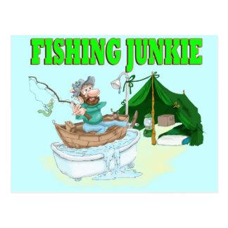Ich würde vielmehr fischen! postkarte