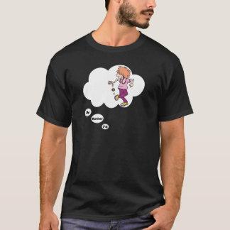 Ich würde vielmehr Hacky Sack spielen T-Shirt