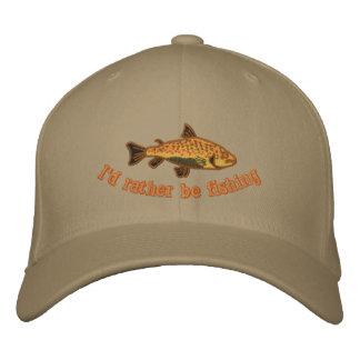 Ich würde vielmehr Kappe fischen