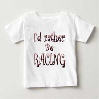 Ich würde vielmehr LAUFEN Baby T-shirt