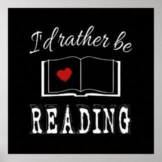 Ich würde vielmehr lesen poster
