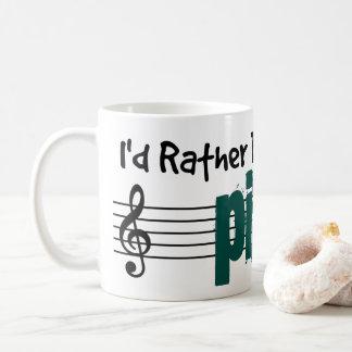 Ich würde vielmehr mein Klavier spielen Kaffeetasse