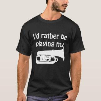 Ich würde vielmehr meinen Tuba-Grafik-T - Shirt