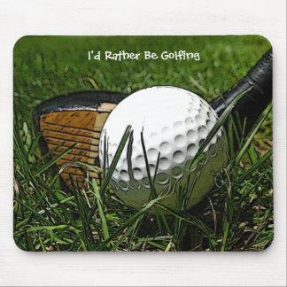 Ich würde vielmehr Mousepad Golf spielen