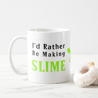 Ich würde vielmehr Schlamm machen Kaffeetasse