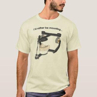 """""""Ich würde vielmehr"""" T - Shirt anbringen"""