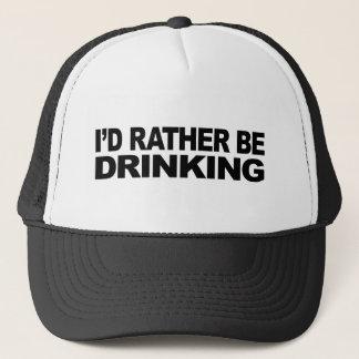 Ich würde vielmehr trinken truckerkappe