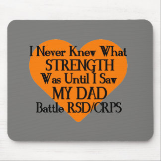 Ich wusste nie, welcher Stärken-… Vati… RSD/CRPS Mousepad