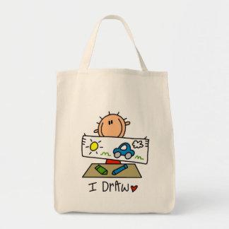 Ich zeichne einkaufstasche