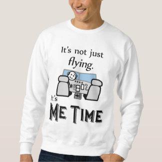 Ich Zeit-Fliegen Sweatshirt