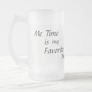 Ich Zeit-Tasse Mattglas Bierglas