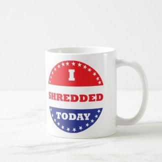 Ich zerriss heute kaffeetasse