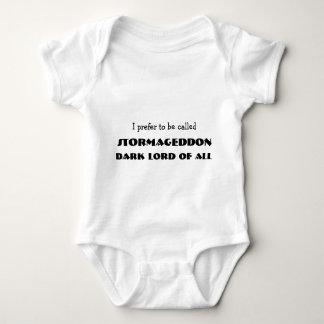 Ich ziehe es vor, angerufen zu werden Stormageddon Baby Strampler
