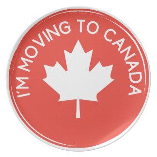 Ich ziehe nach Kanada wegen Präsidenten Trump um Teller