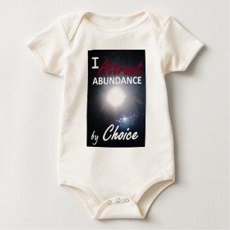 Ich ziehe Überfluss durch Wahl an Baby Strampler