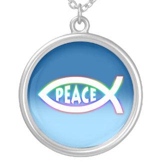 Ichthus - christliches Fisch-Symbol - Halskette