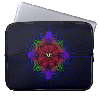 Ichthus Rose Laptop Sleeve