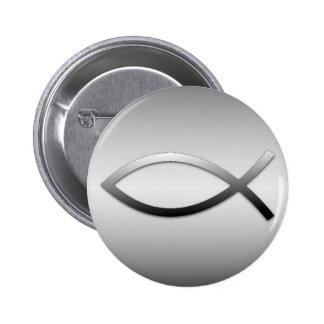 Ichthys Jesus Fische Button
