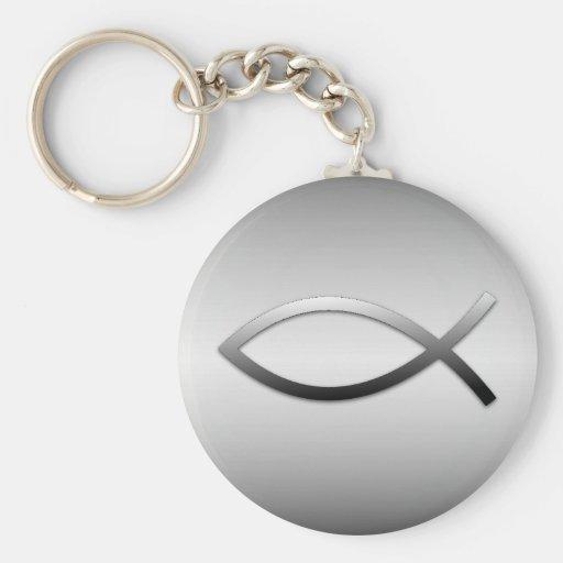 Ichthys Jesus Fische Schlüsselanhänger