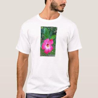 Icisss rosa Blume T-Shirt
