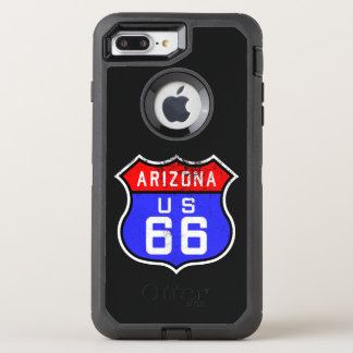 Iconic Vintager Weg 66 Arizona OtterBox Defender iPhone 8 Plus/7 Plus Hülle