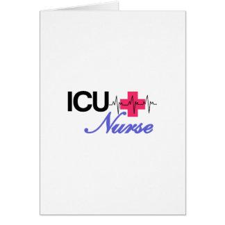ICU Krankenschwester Karte