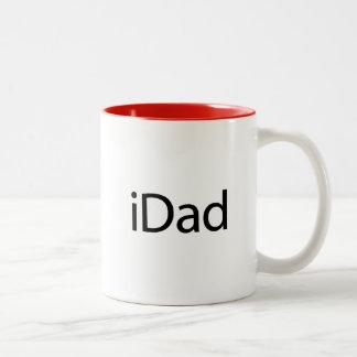 iDad (i-Vati) - eine Tasse gerade für Vatis