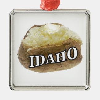 Idaho bohren silbernes ornament