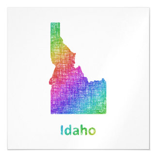 Idaho Magnetische Karte