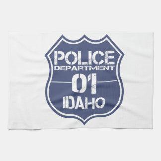 Idaho-Polizeidienststelle-Schild 01 Handtuch