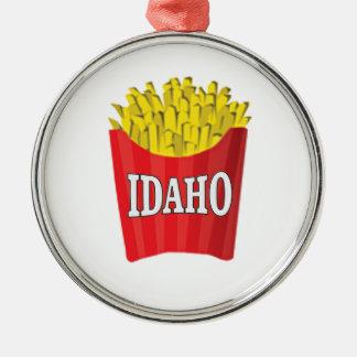 Idaho-Pommes-Frites Silbernes Ornament