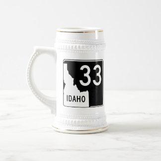 Idaho-Staats-Landstraße 33 Bierglas