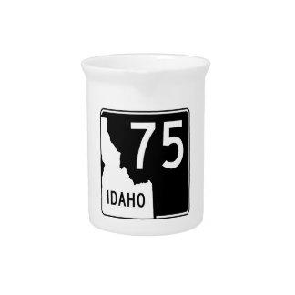 Idaho-Staats-Landstraße 75 Getränke Pitcher