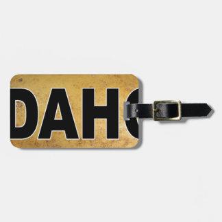 Idahoeuroart-ovale Auto-Abziehbild-Kartoffeln Kofferanhänger